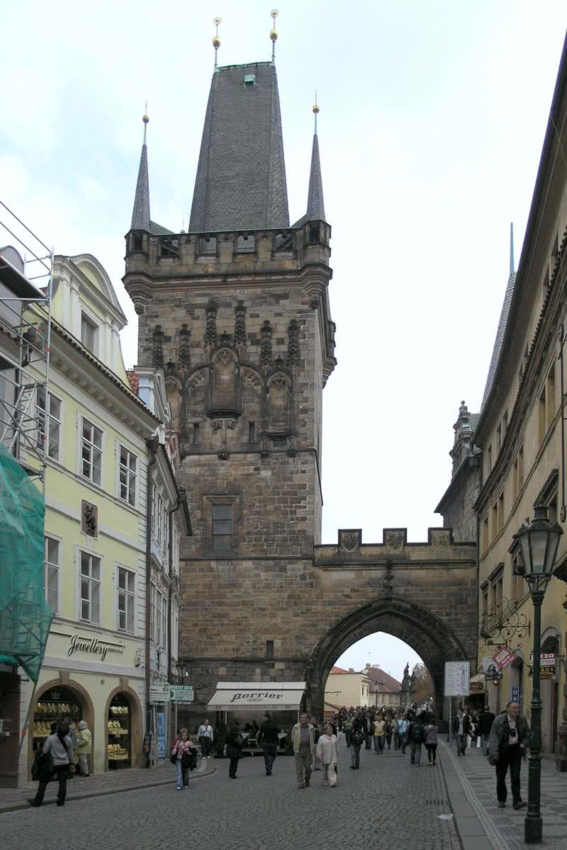 Lesser Town Bridge Tower